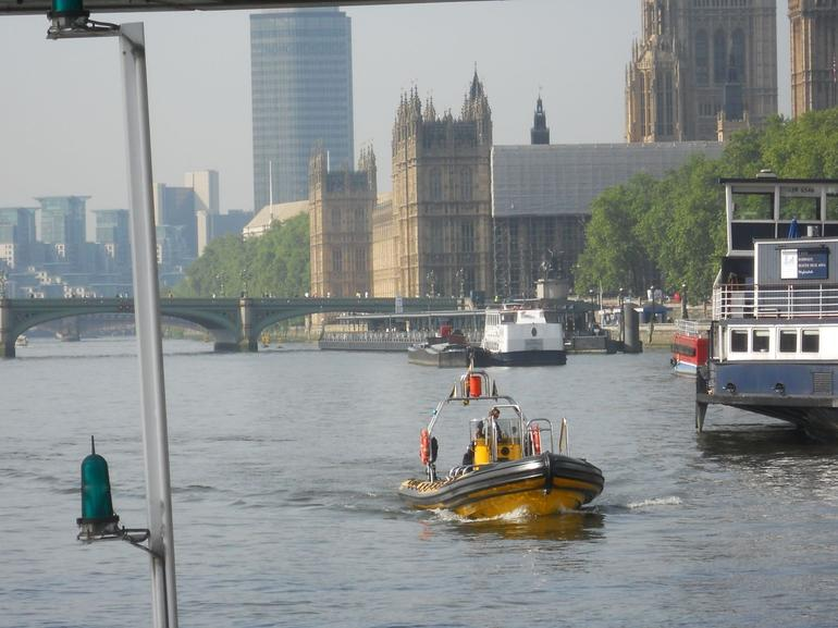 Boating on the Thames - London