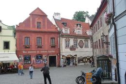 These are only a couple of the interesting buildings in the old town., Valda S - July 2009