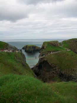 Another view of the rope bridge., Nicola B - September 2008