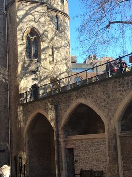 Photo of   Entering in the London Tower