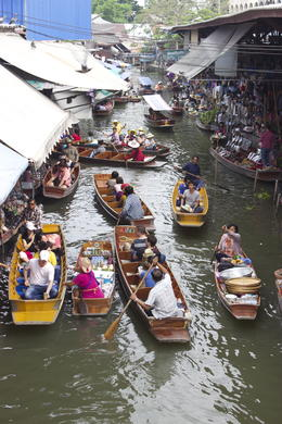 Photo of Bangkok Floating Markets and Rose Garden Cultural Center Day Tour from Bangkok Floating Market
