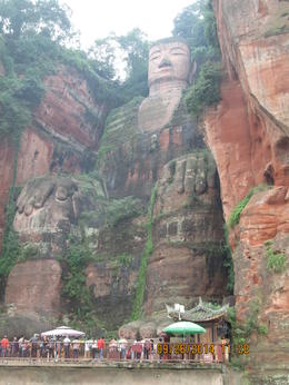 Photo of Chengdu 2-Day Private Tour of Leshan Grand Buddha and Emei Shan including Monastery Stay Grand Budda