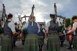 Photo of Edinburgh 7-Day Scotland Tour from Edinburgh: Highlands, Loch Ness, Isle of Skye and 'Jacobite Steam Train' Isle of Skye Pipe Band