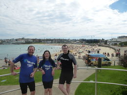 Bondi Beach surf lessons! - March 2015