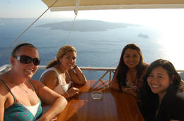 Photo of   Lunch in Santorini