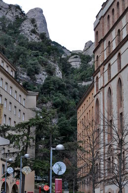 Photo of Barcelona Montserrat Royal Basilica Half-Day Trip from Barcelona Montserrat view