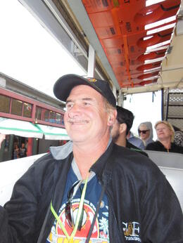 Photo of San Francisco San Francisco Duck Tour My happy husband