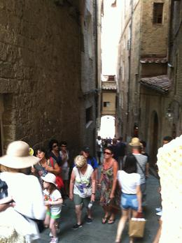 Photo of Florence Siena and San Gimignano Day Trip from Florence Narrow street in San Gimignano.