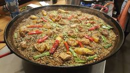 Paella for 18 of us. , christinelaw27 - February 2016