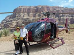 Photo of Las Vegas Grand Canyon All American Helicopter Tour Pat and Rod thank you