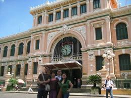 Photo of Ho Chi Minh City Private Tour: Ho Chi Minh City Full-Day Tour Ho Chi Minh City Post Office - on tour with private guide