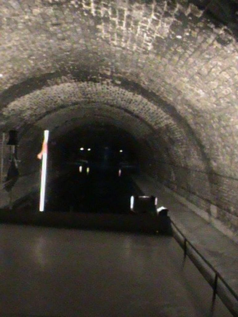 St Michel's Canal - the Underground Leg - Paris