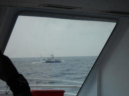 A view of the submarine before the dive , Savita R - June 2012