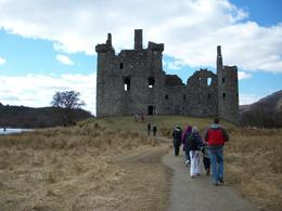 Our tour included a visit to Kilchurn Castle, a ruins dated from the 1450's, that figured prominently in the history of Clan Campbell. The approach was about a half-mile walk via a path through a ... , David W S - May 2013