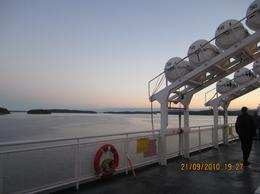 I took this one from the Ferry in the way back to Vancouver, Ibrahim A - September 2010