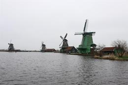 Photo of Amsterdam Amsterdam Super Saver 3: City Tour, Zaanse Schans Windmills, Volendam and Marken Day Trip windmill lake
