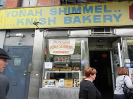 Photo of New York City Best of Brooklyn Half-Day Food and Culture Tour Yonah Shimmel Knish Bakery