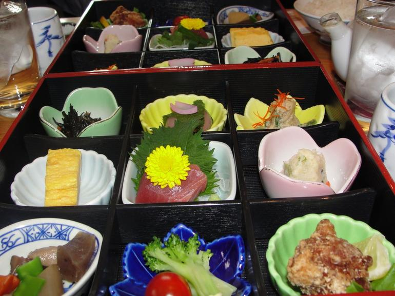 A traditional Japanese-style meal - Tokyo