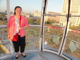 Photo of London London Eye and Thames River Sightseeing Cruise at the top of the Eye,