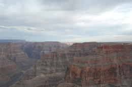 Photo of Las Vegas Grand Canyon West Rim Deluxe Sunset Helicopter Tour birds eye view