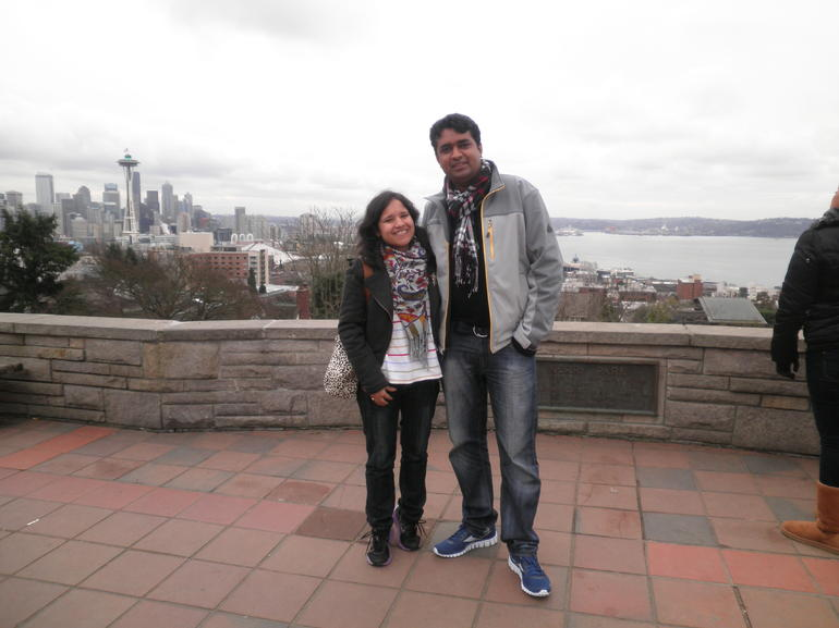Dushyant and Bindu @ Quiwk Tour Seattle