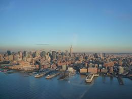 the first look of manhattan from the helicopter - December 2009