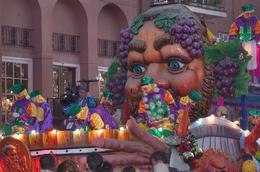 Photo of New Orleans Viator Exclusive: Mardi Gras Parade Premium Viewing Stands Giant face float.jpg