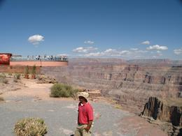 The Grand Canyon Skywalk is impressive, but not as impressive as the view by helicopter., Craig T - October 2007