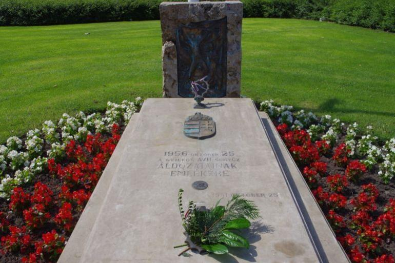 Grave of the unknown soldier - Budapest