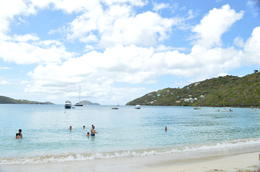 Swimming in Magen's Bay , Valerie C - March 2014