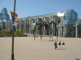 A gargantuan spider at the National Gallery of Canada, Krishnan Vaitheeswaran - June 2009
