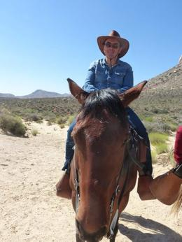Photo of Las Vegas Morning Maverick Horseback Ride with Breakfast me