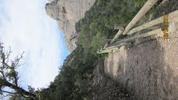 Photo of Barcelona Montserrat and Cava Trail Small Group Day Trip from Barcelona Monserrat..take the tram ride up