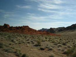 Photo of Las Vegas Valley of Fire Luxury Tour Trekker Excursion Park Entrance