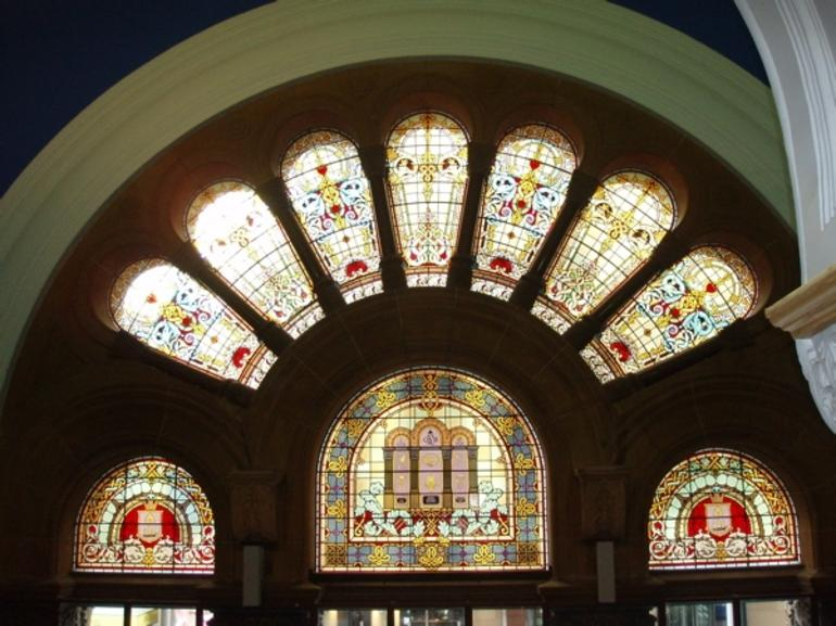 QVB Stained Glass windows - Sydney