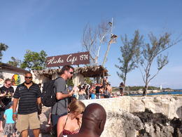 Rick's Cafe... Cliff Diving, Food, Fun and Beautiful Sunsets... , Tanya M - May 2013