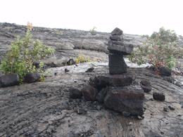 Photo of Big Island of Hawaii Kilauea Volcano Bike Tour Rock Solid