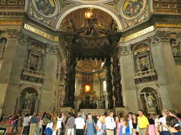 Photo of Rome Skip the Line: Vatican Museums, Sistine Chapel and St Peter's Basilica Half-Day Walking Tour St Pieter