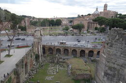 Photo of Rome Viator VIP: Exclusive Rome Rooftop Dinner and Colosseum Night Tour Including Underground Chambers View from restaurant