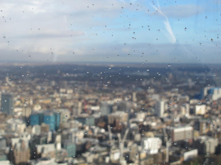 View from Shard - London