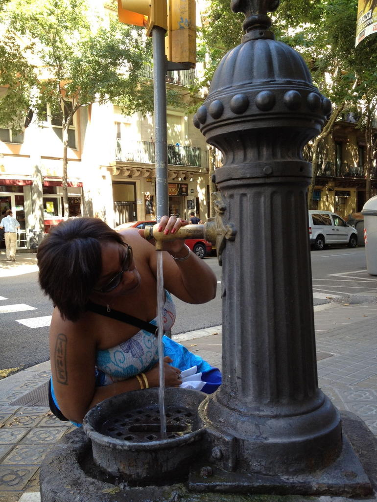 Water fountain - Barcelona