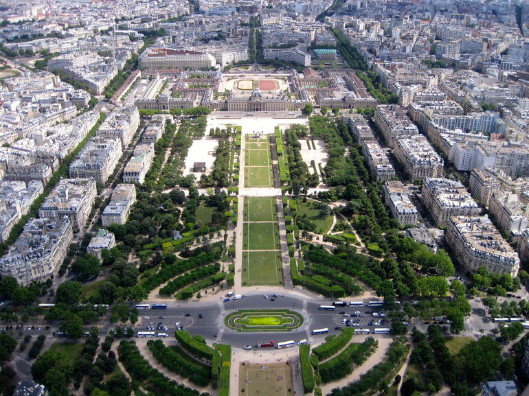 A view from the top. - Paris