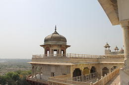 Tower in Musamman Burj from where Shah Jahan used to see Taj Mahal - September 2012