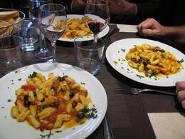 Photo of Rome Rome Walking Tour and Cooking Class cavatelli