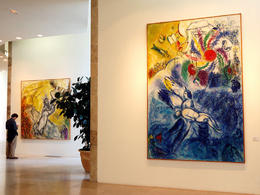 Photo of   Chagall Museum interior