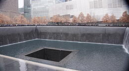 The memorial to all those at 9/11 Eternal Fountain , suzytrucker - December 2014