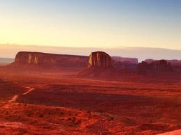 Photo of Las Vegas 3-Day National Parks Camping Tour: Grand Canyon, Zion, Bryce Canyon and Monument Valley from Las Vegas First light at Monument Valley