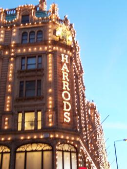 Harrods, shopping, shopping, shopping - August 2010