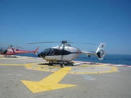Photo of Monaco French Riviera Scenic Helicopter Tour from Monaco helicopters lined up.jpg