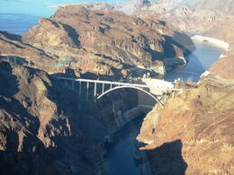 Taken from the helicopter on the way out to the canyon., Tina G - October 2010